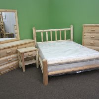 White Cedar Bedroom Set