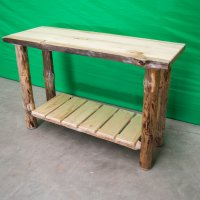 Rustic Pine Sofa Table