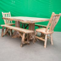Log Kitchen Table