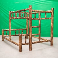 Torched Cedar Bunk Bed