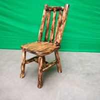 Cedar Log Chair