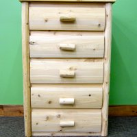 5 Drawer Log Dresser