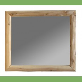 Log Furniture Mirror