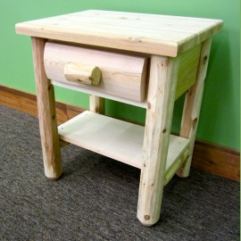 White Cedar Nightstand