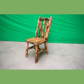 Cedar Log Chair