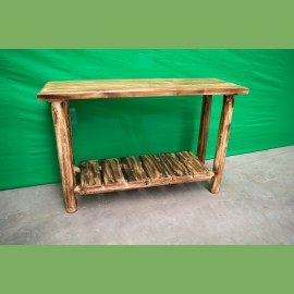 Log Sofa Table