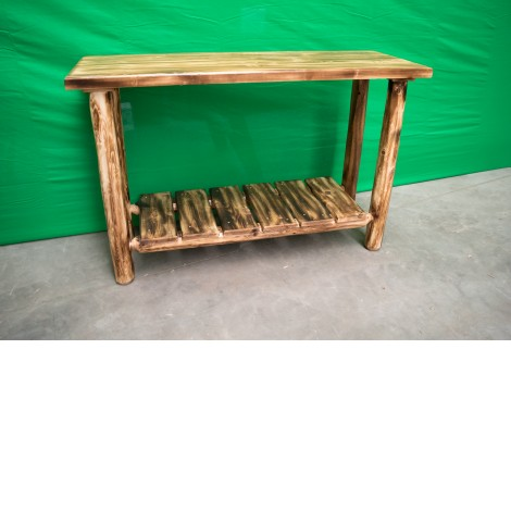 Log Sofa Table