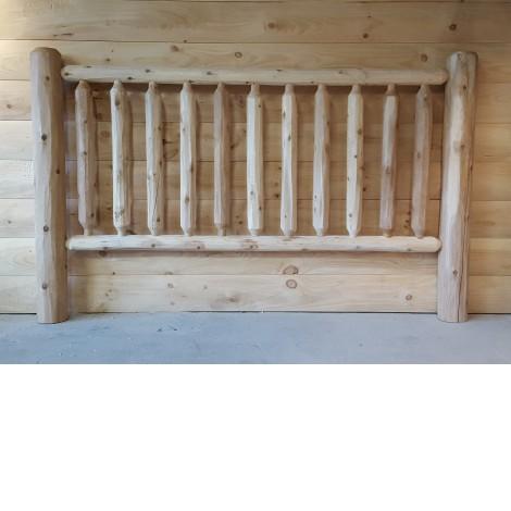Log Railing and Post